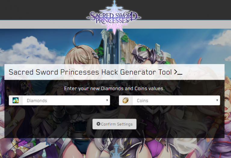 Sacred Sword Princesses Hack – Get unlimited Diamonds and Coins 🍑